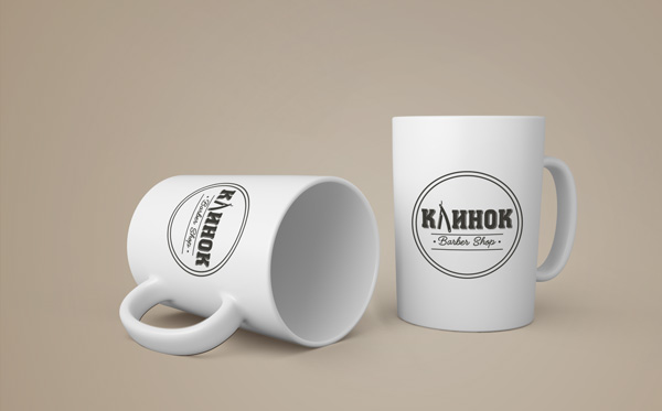 "Logo of Barber Shop ""Klinok"" (Клинок)"