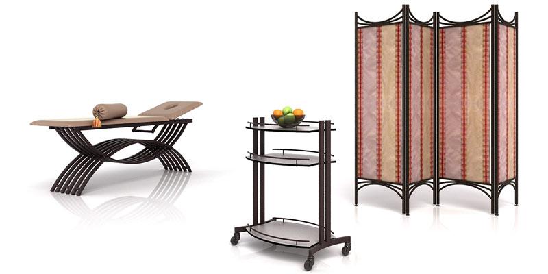 Промышленный дизайн мебели для СПА-салонов КЛЕОПАТРА. 2011