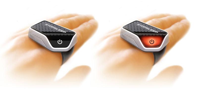 Промышленный дизайн инновационного устройства STOPSLEEP. Эскизная визуализация. 2010