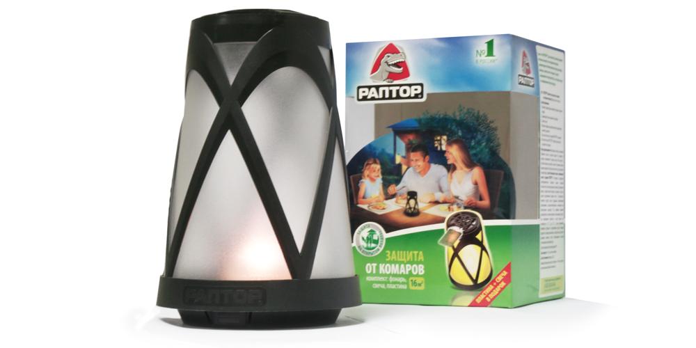 РАПТОР. Фонарик для защиты от комаров на открытом воздухе, 2012