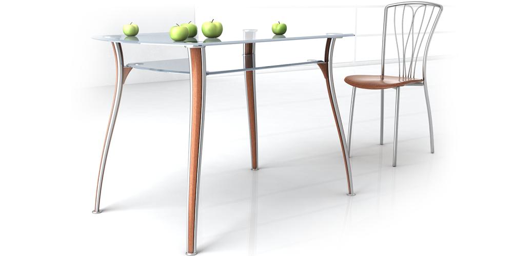 Промышленный дизайн бюджетной мебели ETUDE. 2007