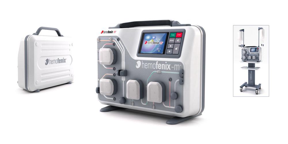 Промышленный дизайн медицинского аппарата очистки крови. 2009