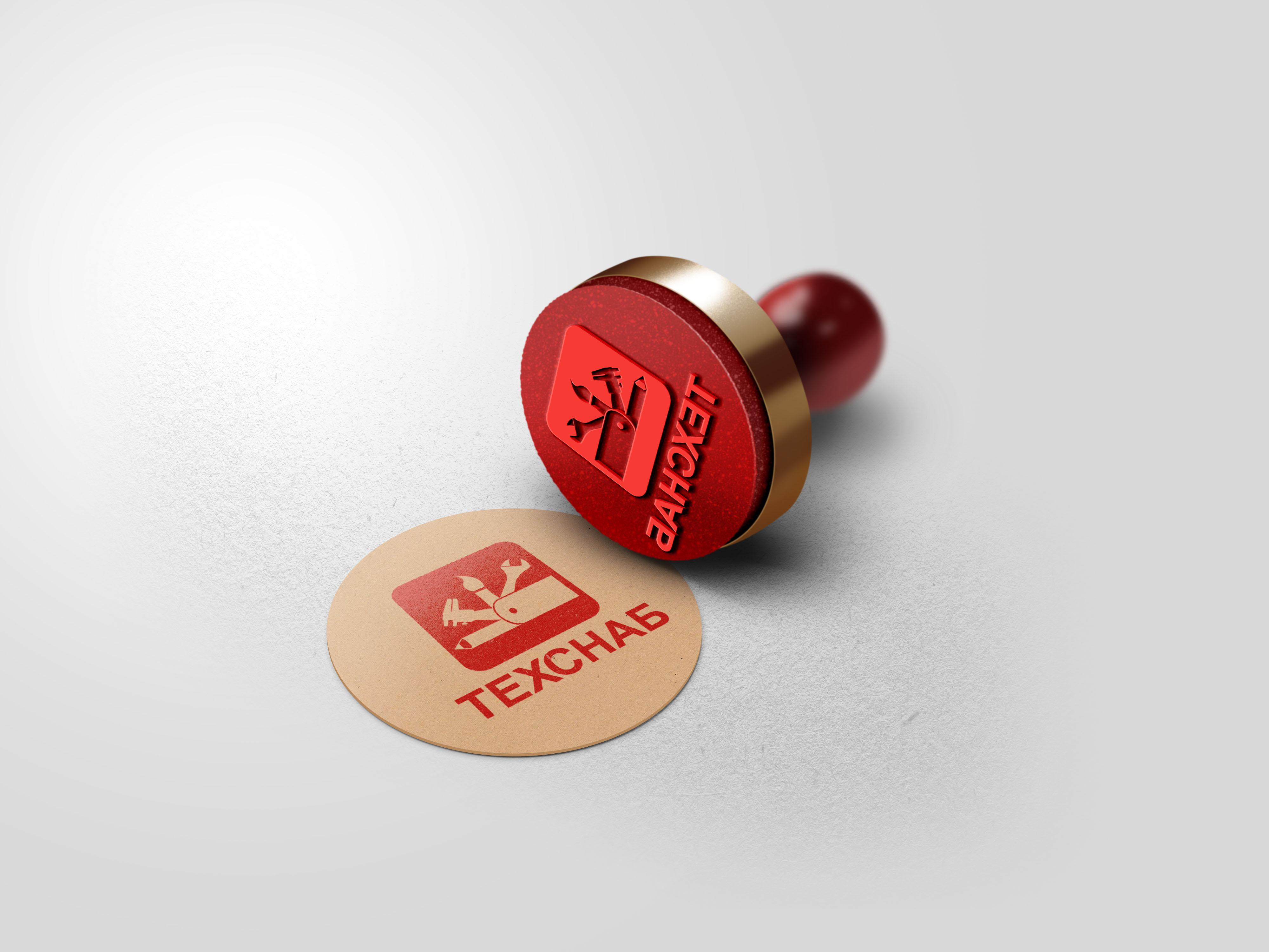 Разработка логотипа и фирм. стиля компании  ТЕХСНАБ фото f_1185b1f79b9e84a2.jpg