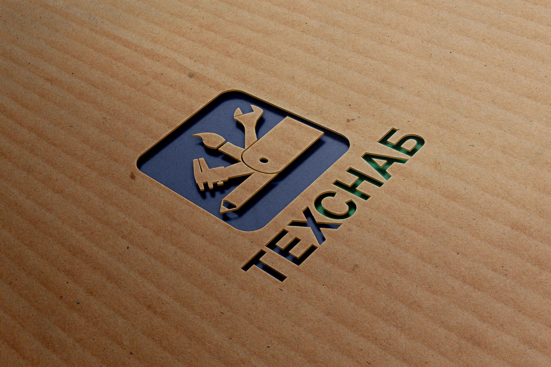 Разработка логотипа и фирм. стиля компании  ТЕХСНАБ фото f_7065b1f79876b36c.jpg