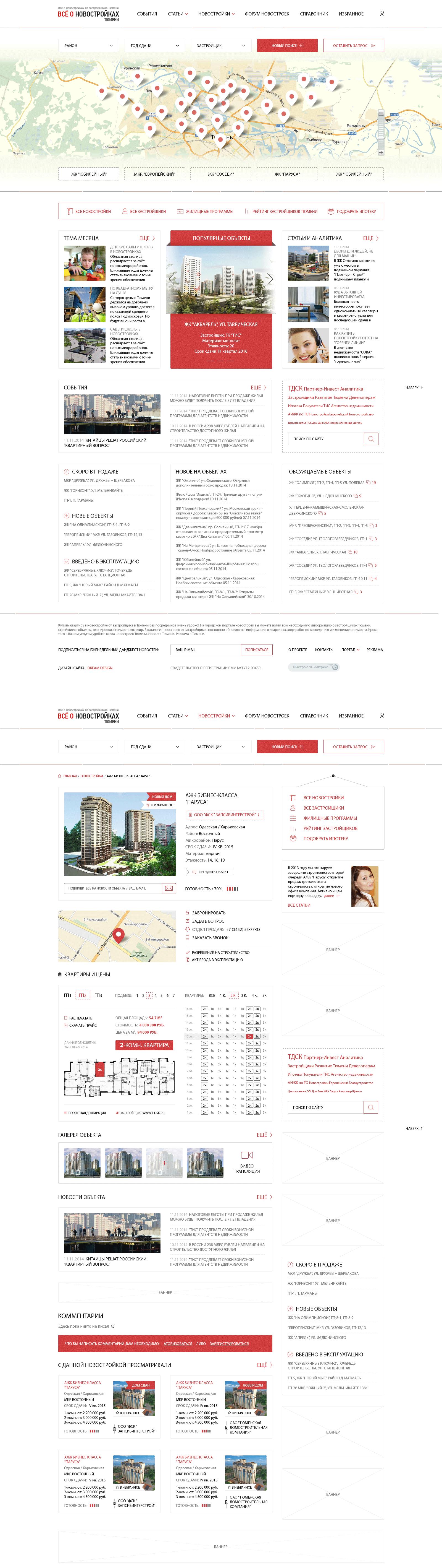 Все о новостройках - Портал