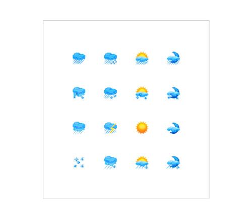 Иконки «Погода»