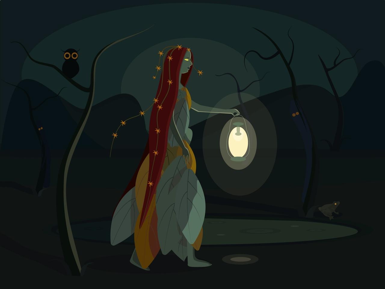 Иллюстрация: Чудеса на болотах