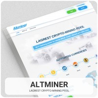 Landing page – Altminer
