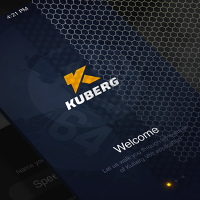 Kuberg - Дизайн мобильного приложения IOS