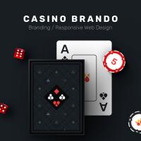 Casino Brando - дизайн и разработка сайта