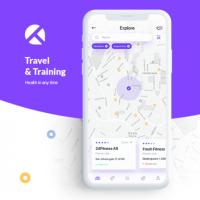 Travel App - дизайн приложения