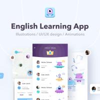 Lingvalien | Дизайн Андроид приложения по изучению английского языка