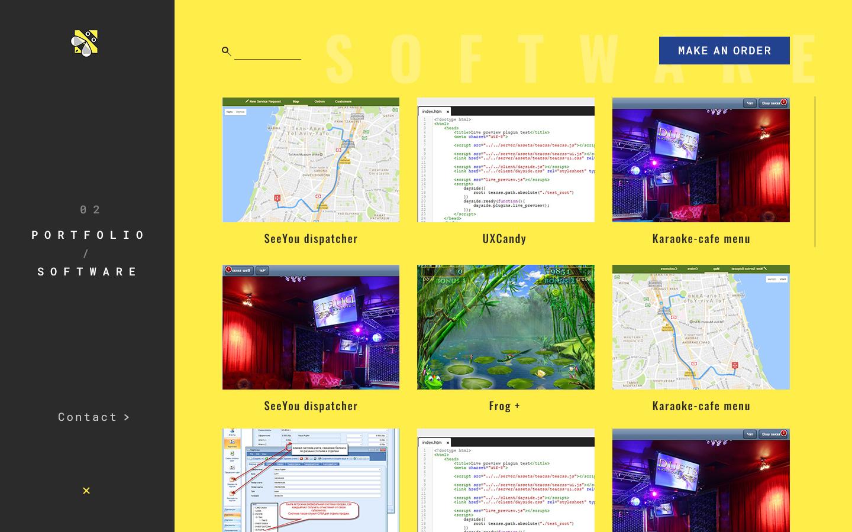 Концепт дизайна сайта в корпоративном стиле для IT компании фото f_783596b4b34b966b.jpg