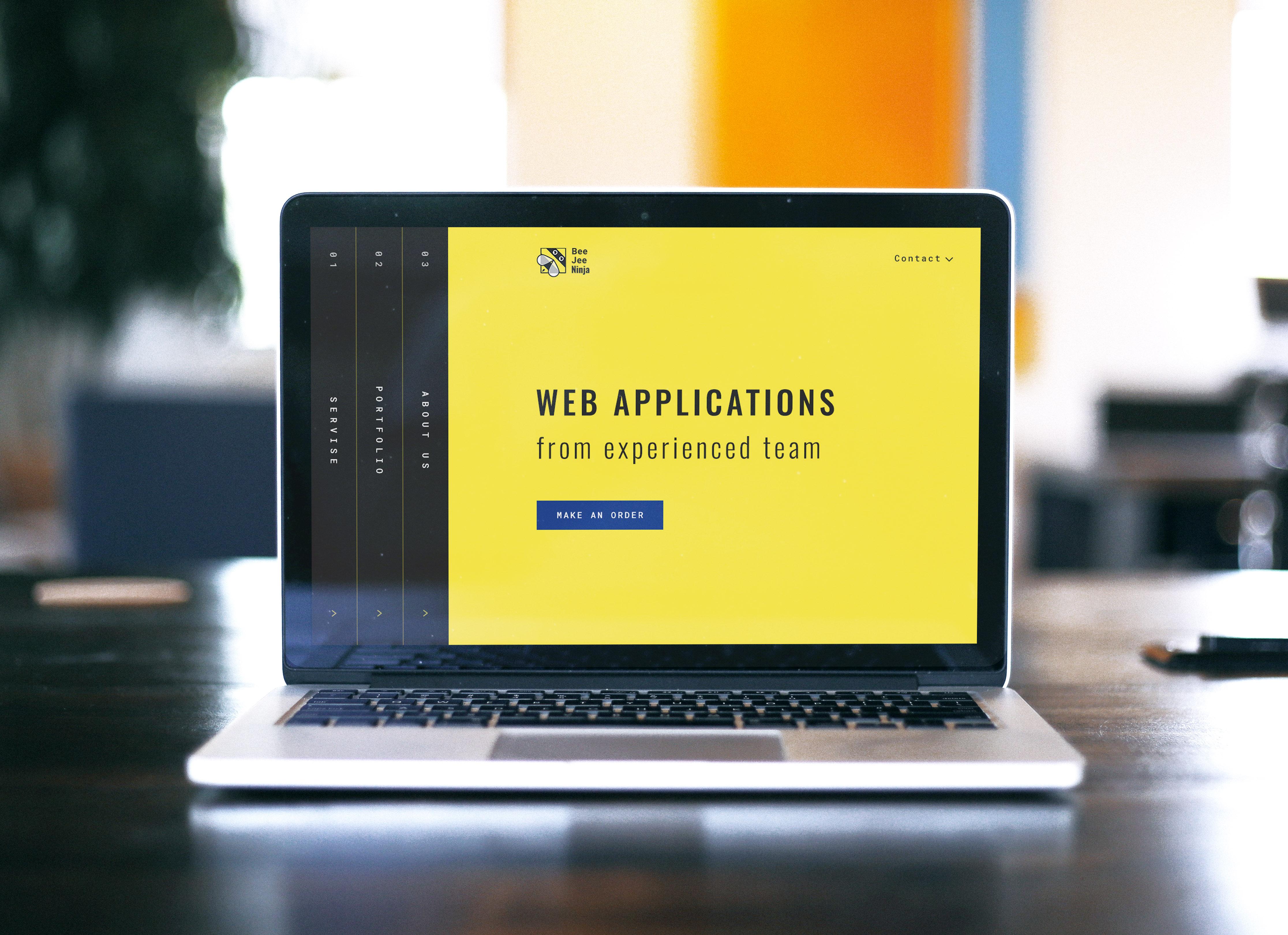 Концепт дизайна сайта в корпоративном стиле для IT компании фото f_857596b486f7a328.jpg