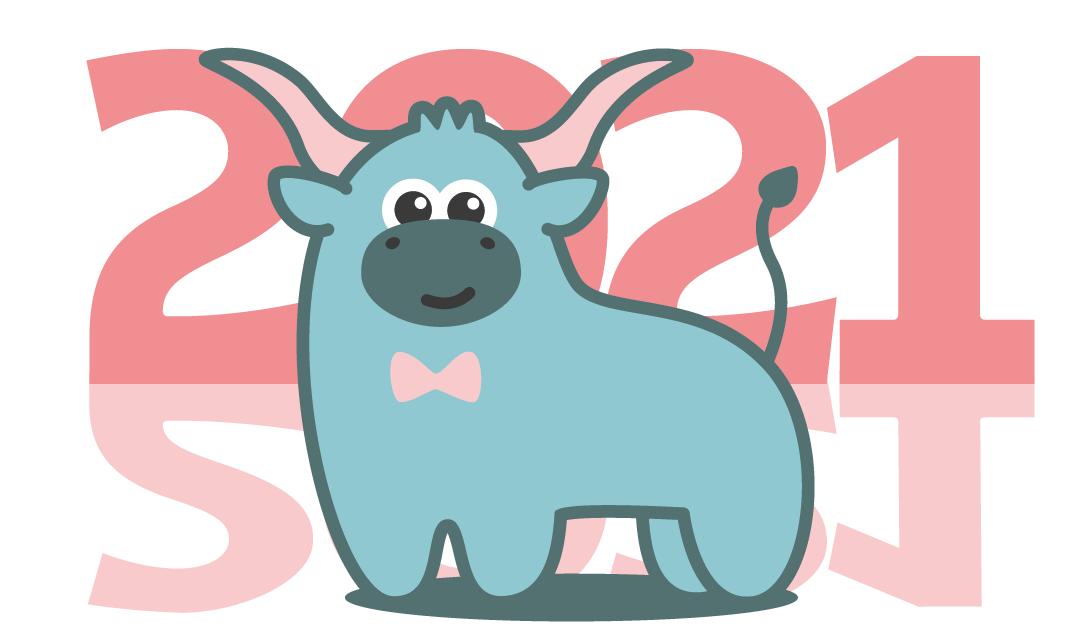 Создать рисунки быков, символа 2021 года, для реализации в м фото f_1045f031fbd59c60.png