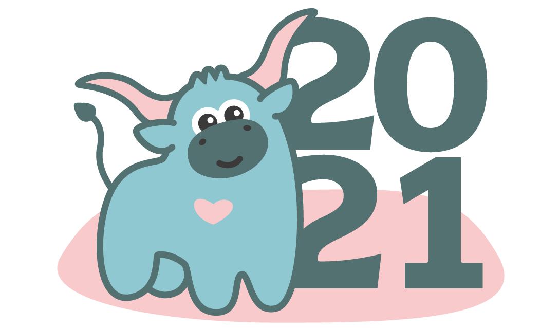 Создать рисунки быков, символа 2021 года, для реализации в м фото f_9135f031fc167239.png