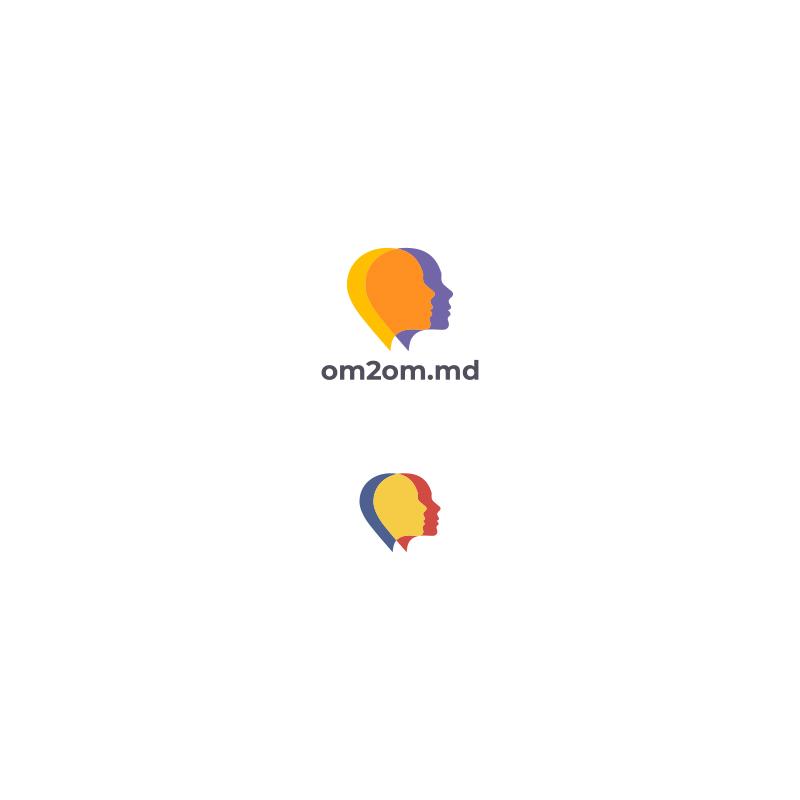Разработка логотипа для краудфандинговой платформы om2om.md фото f_4795f58286f37c3a.jpg