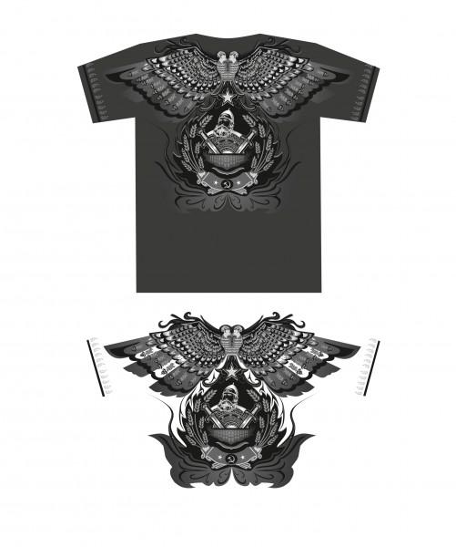 Рисунок на футболку (г. Санкт-Петербург)