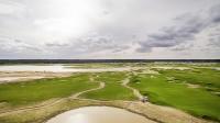 аэро-фотосъемка поле для гольфа