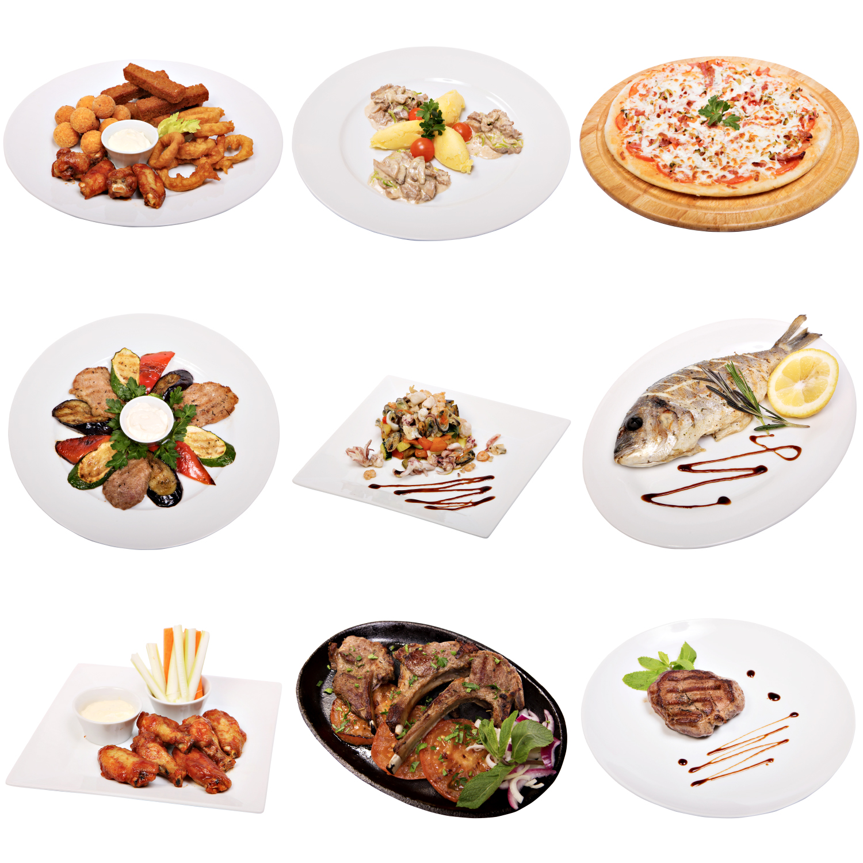 Ретушь блюд для меню