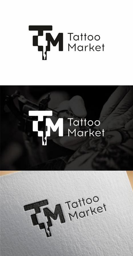 Редизайн логотипа магазина тату оборудования TattooMarket.ru фото f_0075c4028a7670f0.png