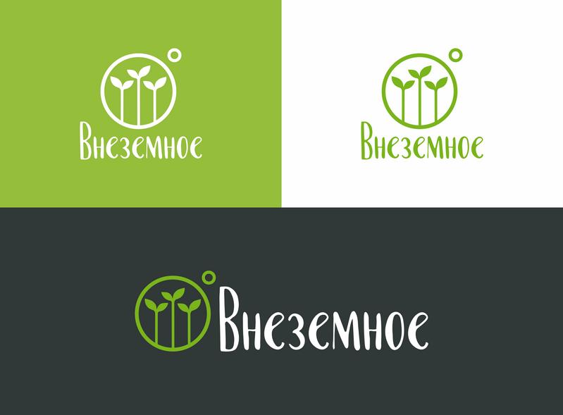 "Логотип и фирменный стиль ""Внеземное"" фото f_2215e789811932c4.png"