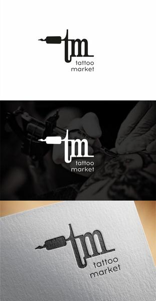 Редизайн логотипа магазина тату оборудования TattooMarket.ru фото f_2415c40293a74d4f.png