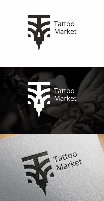 Редизайн логотипа магазина тату оборудования TattooMarket.ru фото f_2975c4028a0c5287.png