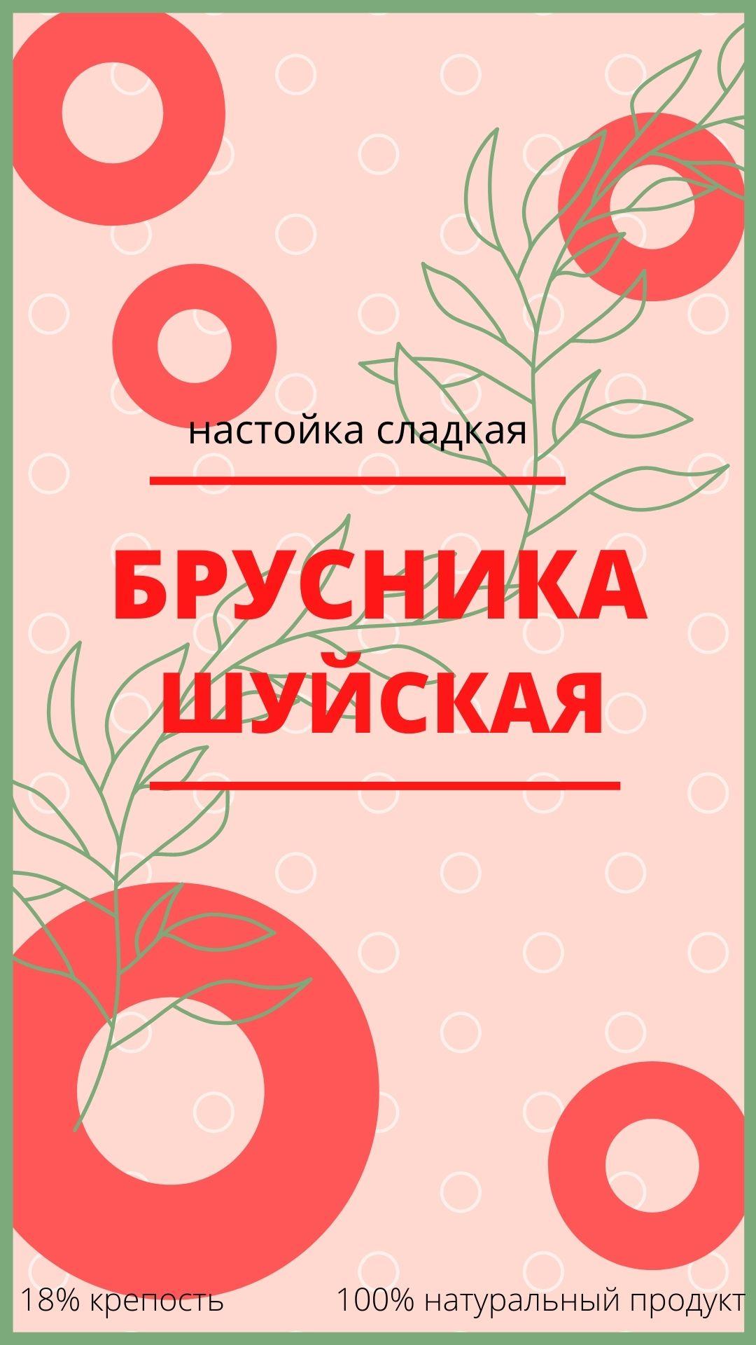 Дизайн этикетки алкогольного продукта (сладкая настойка) фото f_7175f86eda875537.jpg