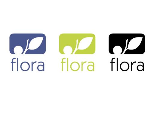 """Логотип """"flora"""""""