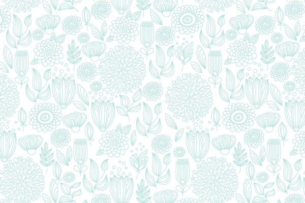 Pale turquoise seamless pattern