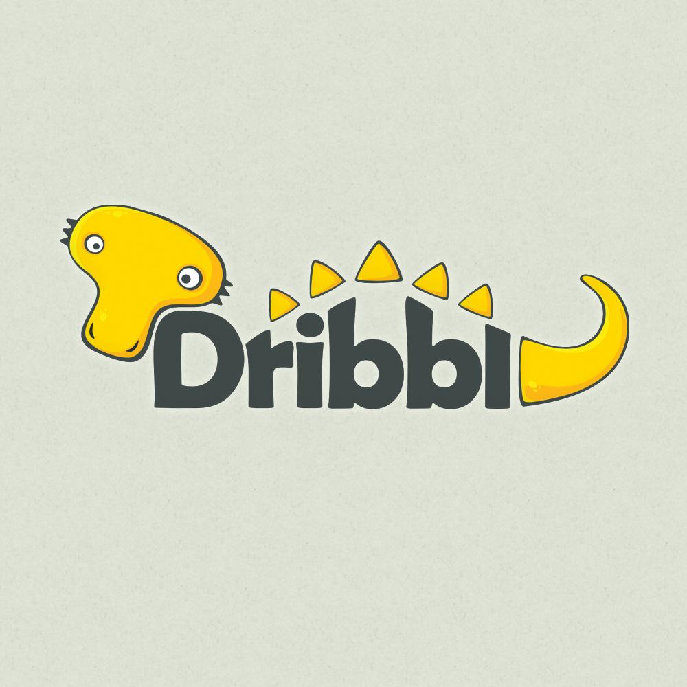 Разработка логотипа для сайта Dribbl.ru фото f_2675a9e4fde6c70f.jpg
