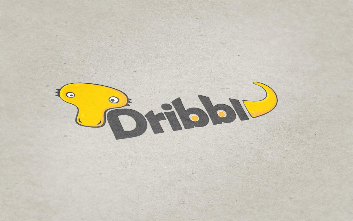 Разработка логотипа для сайта Dribbl.ru фото f_3185a9e4fb031a12.jpg