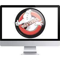 Отрисовка в вектор (Ghostbusters)