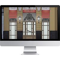 Векторная визуализация нового оформления фасада паба