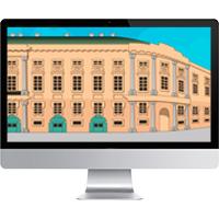 Дореволюционные здания (в векторе)