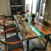 Чем вас покорит стол в стиле RIVER