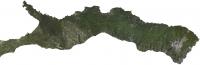 Карта острова Афон