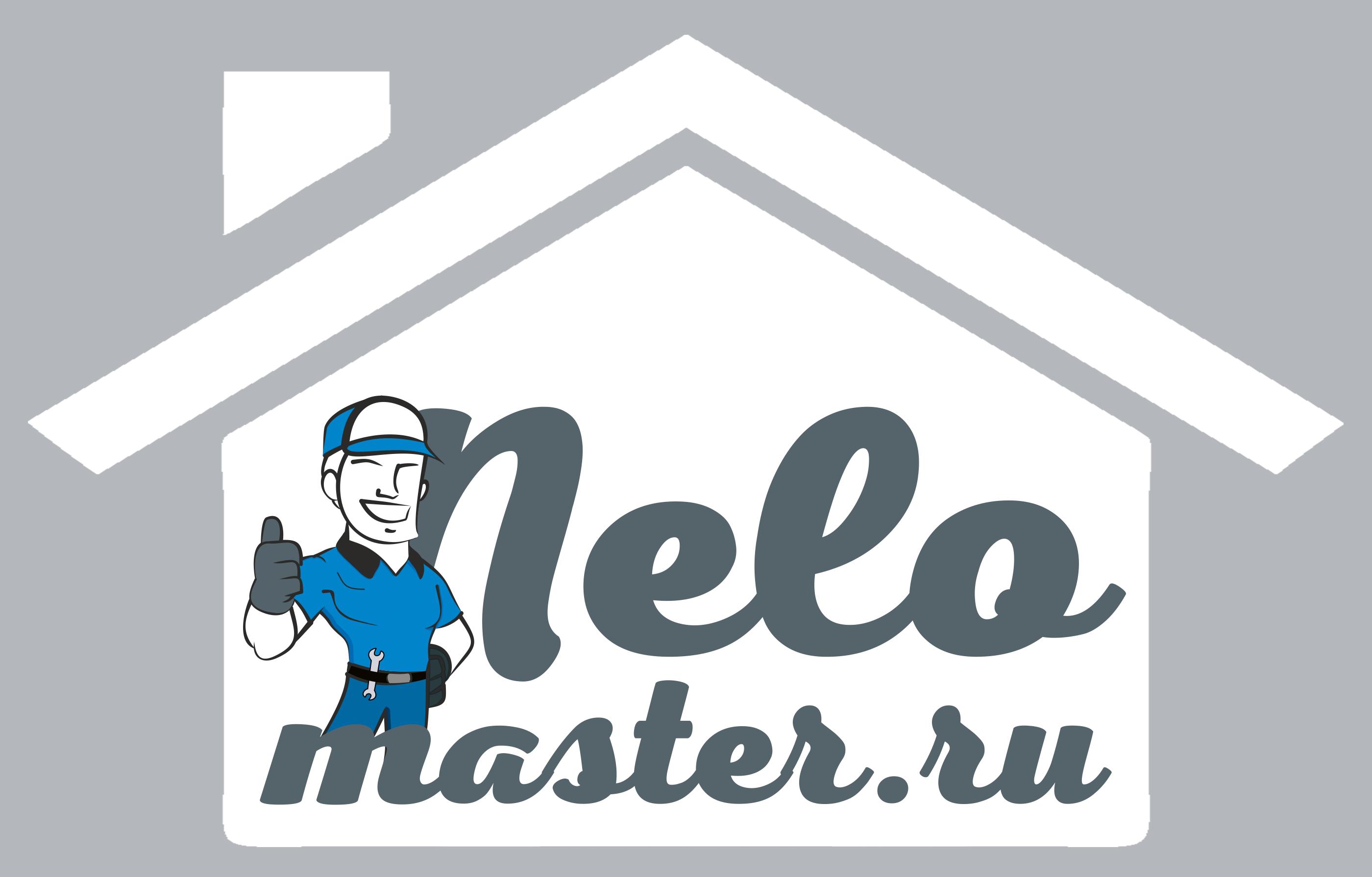 """Логотип сервиса """"Муж на час""""=""""Мужская помощь по дому"""" фото f_9365dbd871e80fda.png"""