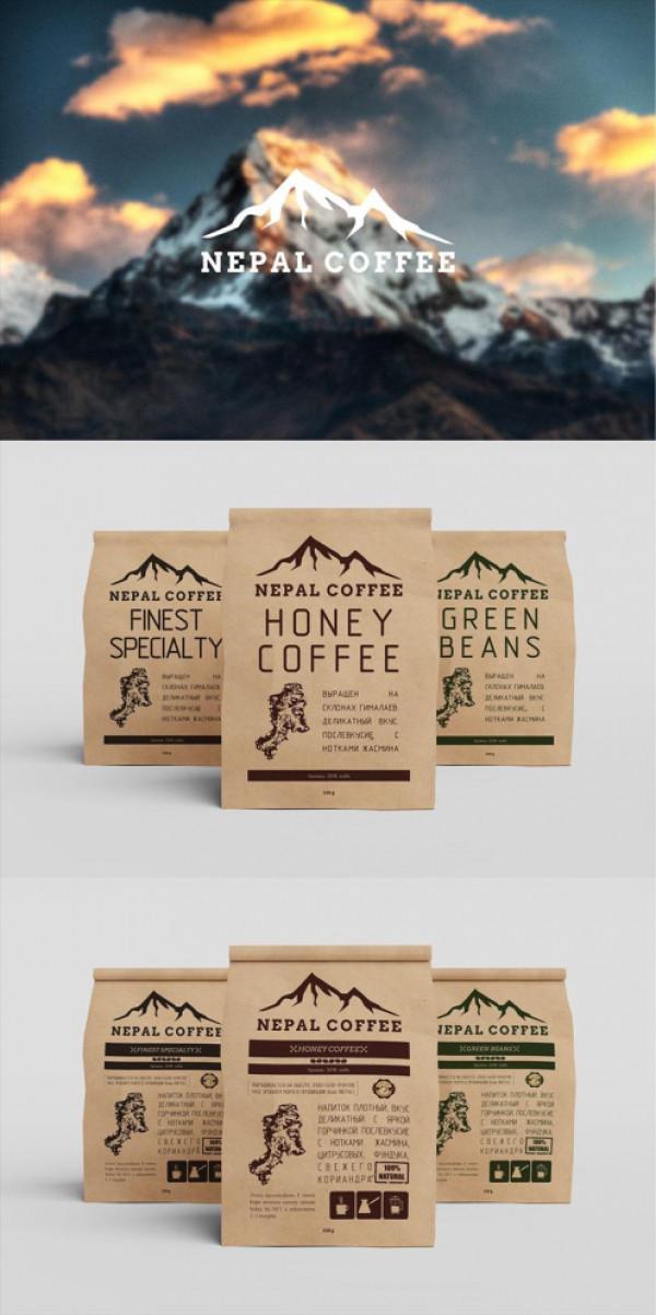 ПОЛИГРАФИЯ/ дизайн упаковки honey coffee