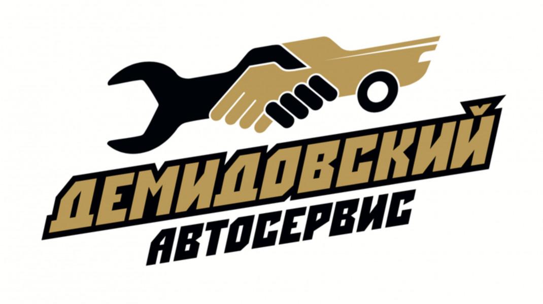 ЛОГОТИП/ автомастерская ДЕМИДОВСКИЙ