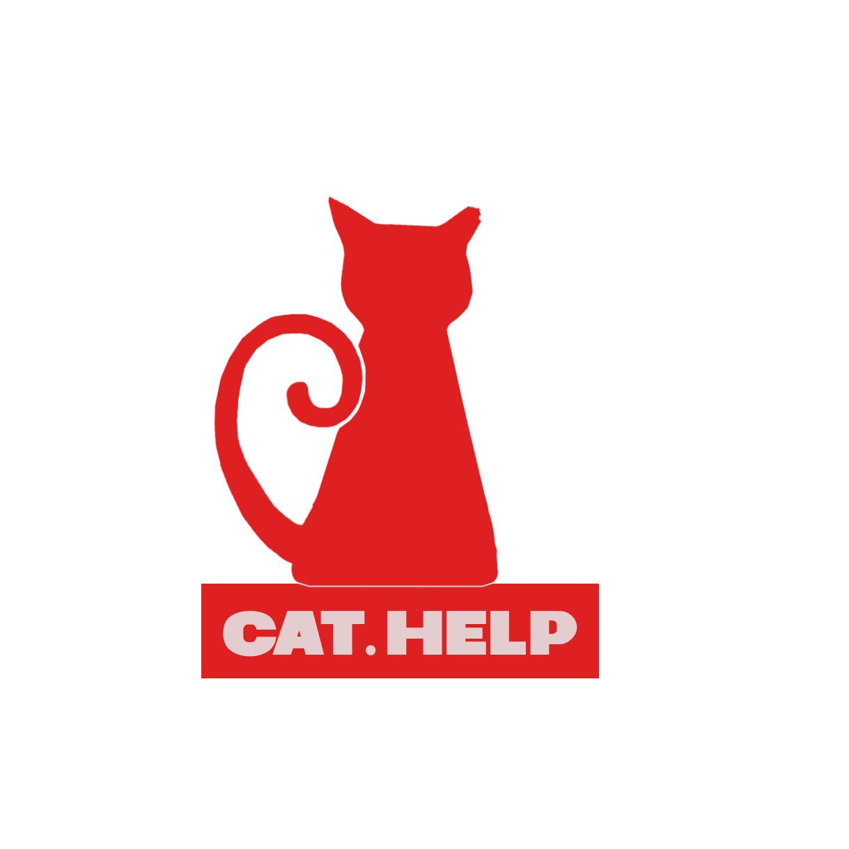 логотип для сайта и группы вк - cat.help фото f_35259da9ce10ad6f.jpg