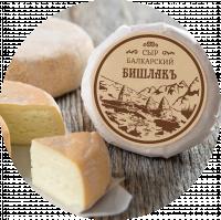 """Этикетка для Балкарского сыра """"Бишлакъ"""""""