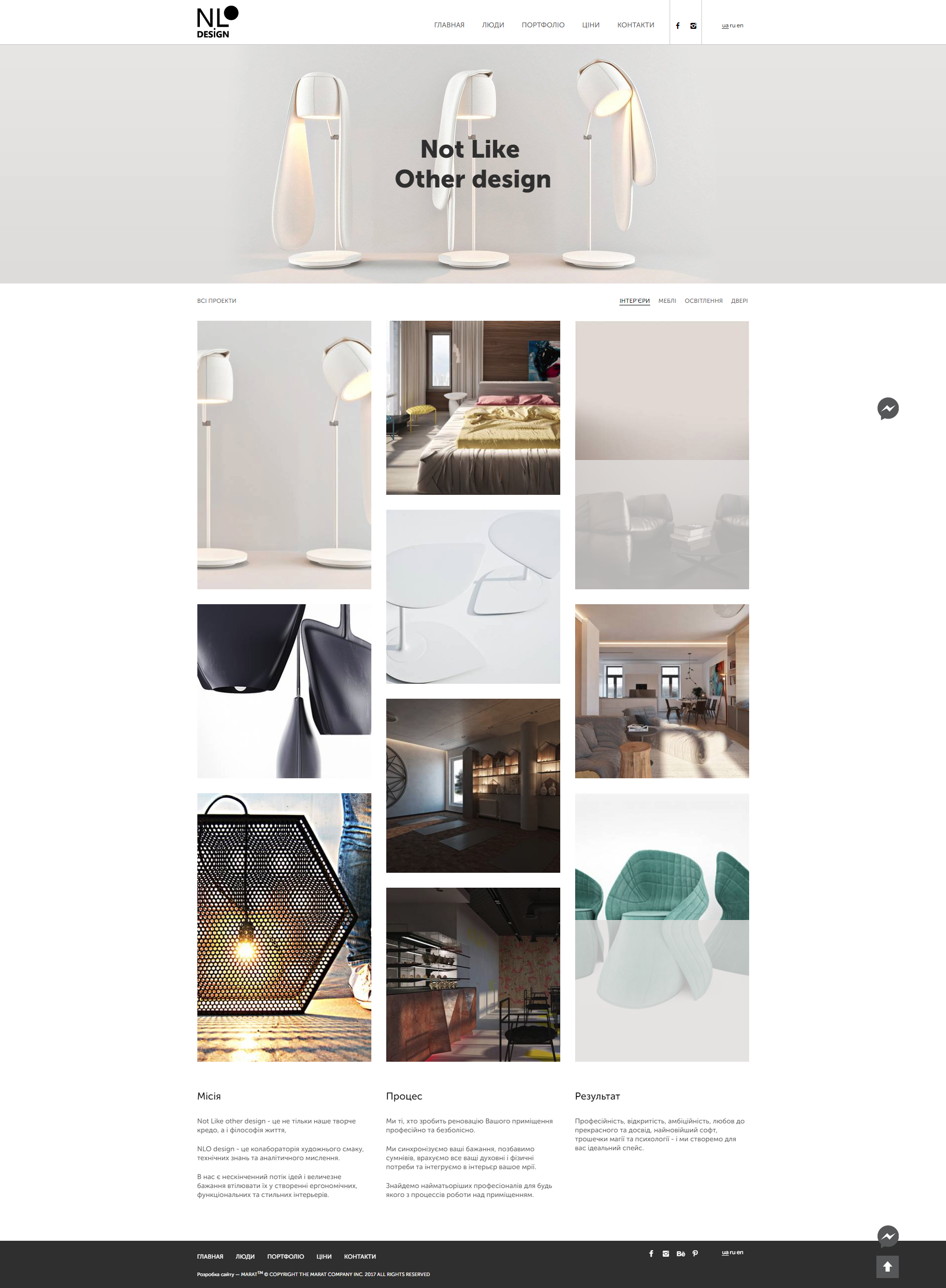 Компанія NLO design