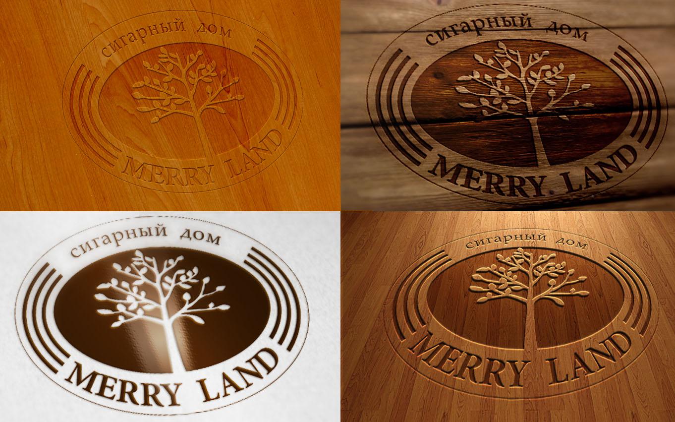 """Разработка логотипа """"Merry land"""""""