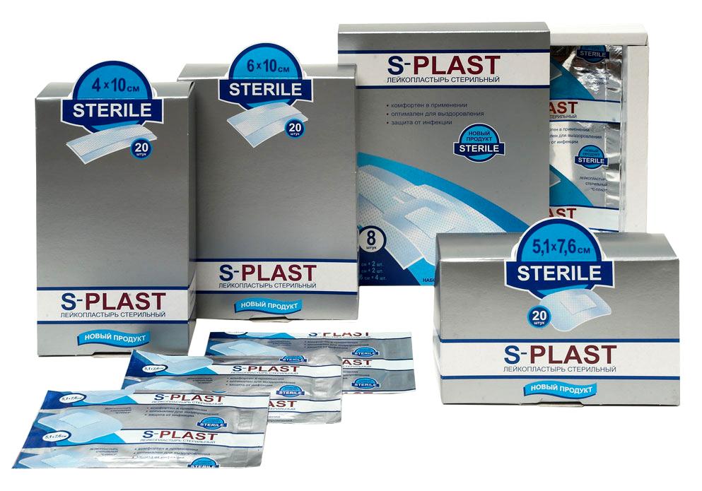 """Дизайн упаковки наборов пластырей ТМ """"S-Plast"""""""