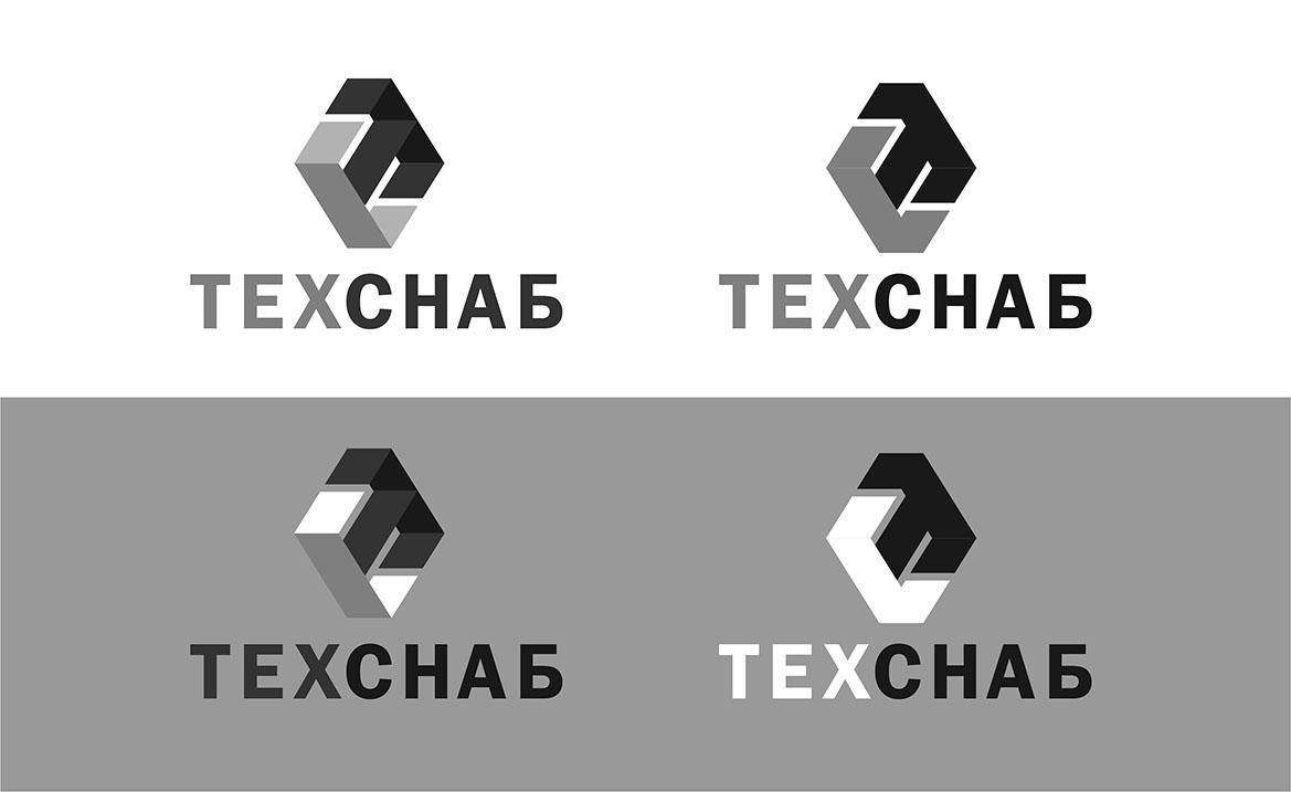 Разработка логотипа и фирм. стиля компании  ТЕХСНАБ фото f_4335b1e24d4f326c.jpg