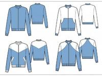 Отрисовка технических и художественных эскизов одежды.