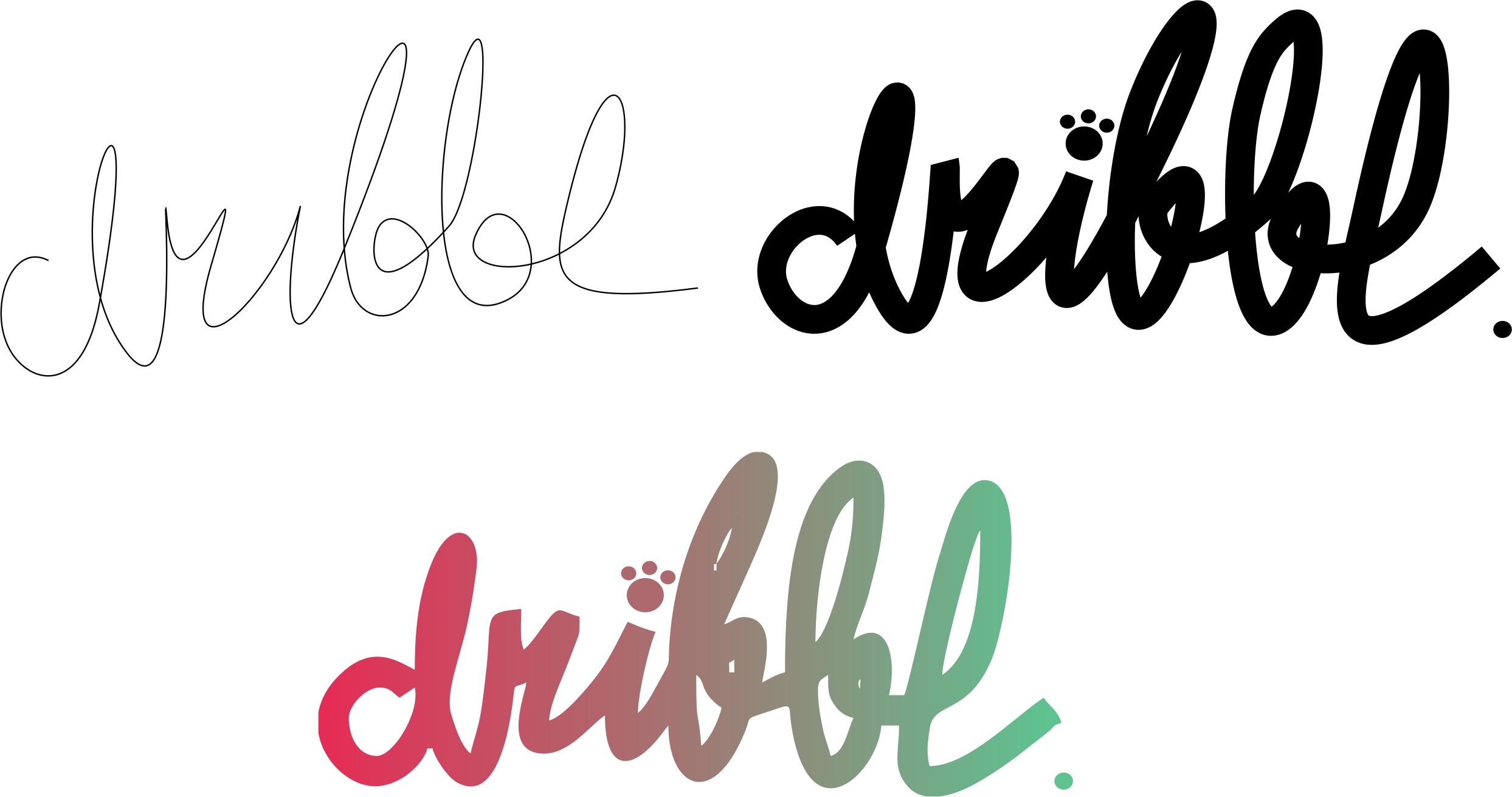 Разработка логотипа для сайта Dribbl.ru фото f_8475a9c36f5ecdcc.jpg