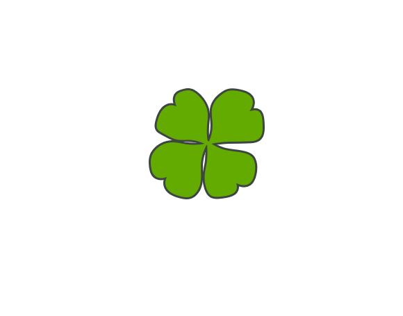 Разработка логотипа  TRIUMPH MEDIA с изображением клевера фото f_50752c89ec28d.jpg